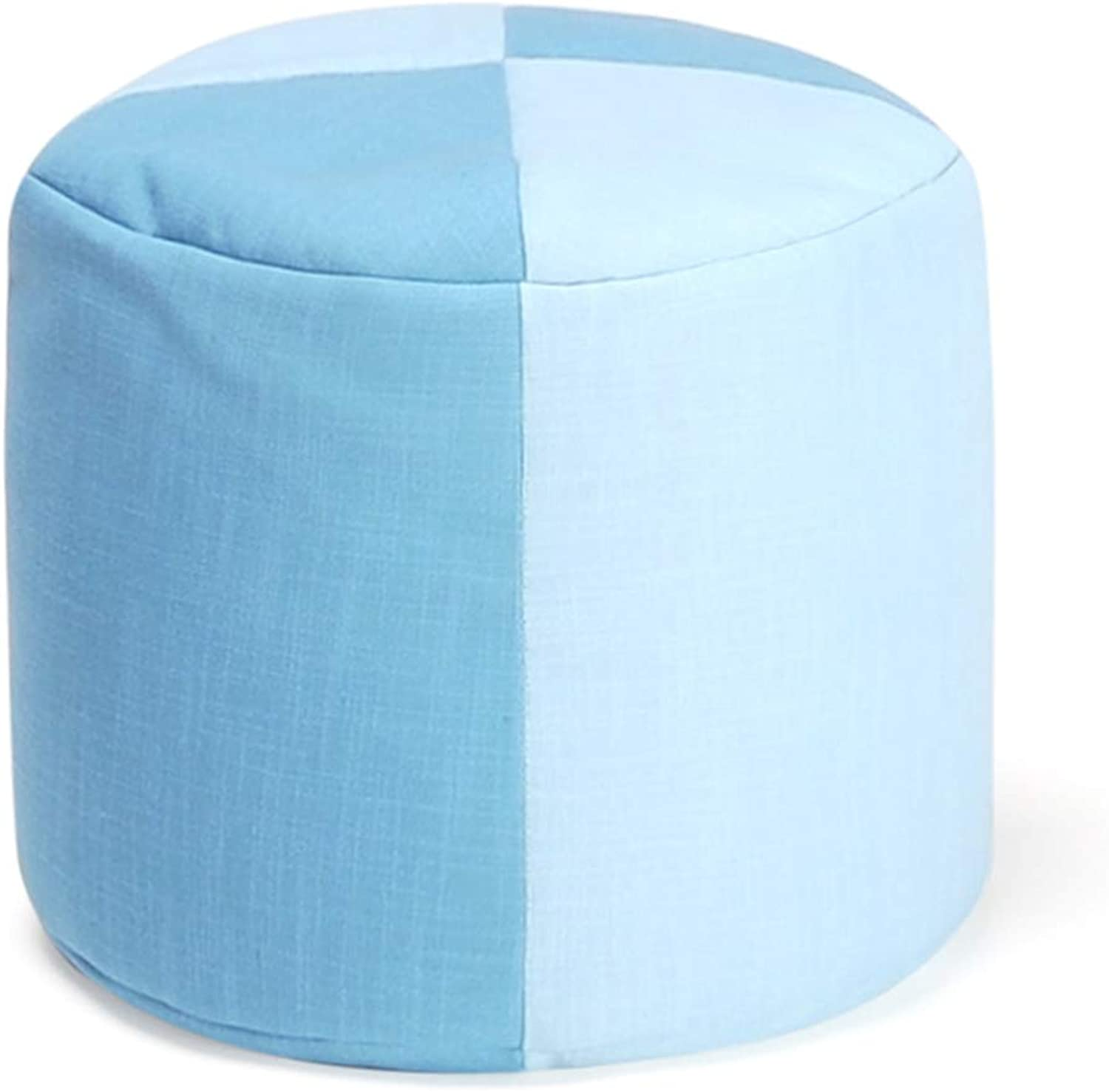 CAIJUN Footstool Multifunction Portable Environmentally Friendly Particle Filling Leisure Square Gift, 18 Styles (color   L, Size   40x35cm)
