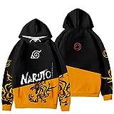 KIACIYA Naruto Hoodie Herren Damen Kinder Naruto Akatsuki Pullover Langarm Naruto Anime Cosplay...