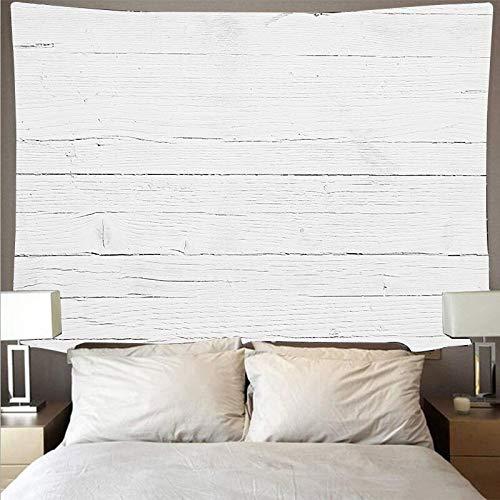 Tablón de madera de tronco blanco textura estilo retro tapiz arte hippie colgante de pared psicodélico toalla de playa tapiz de tela de fondo A5 150x200cm