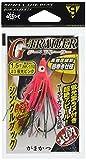 がまかつ(Gamakatsu) タコベイト Gトレーラー シングル 夜光ピンク 1.5寸 1組 #3 AK112 68177