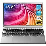 2021 Nuovo Pc Portatile, BiTECOOL NesBook Windows 10 Computer Portatili Laptop, 15,6 pollici 1920x1080 FHD IPS, Intel Celeron J4115 Quad Core, 8GB RAM + 256GB SSD, Espandibile fino a 1 TB, Sottile