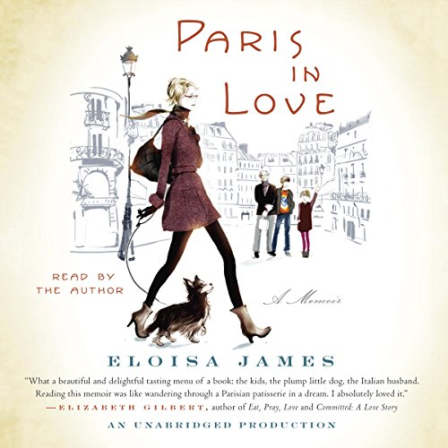 Paris in Love audiobook cover art