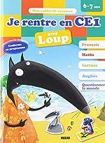 Cahier de vacances de Loup - Je rentre en CE1 (édition 2019) d'Eléonore Thuillier