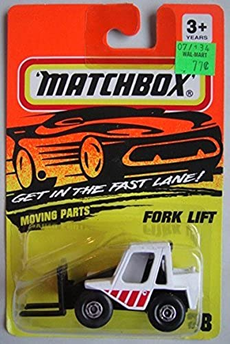Compra calidad 100% autentica MATCHBOX GET IN THE FAST FAST FAST LANE  blanco negro FORK LIFT  28 by Matchbox  hermoso
