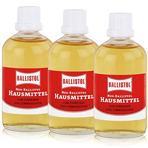 BALLISTOL NEO-BALLISTOL 3 Flaschen a 100 ml Hausmittel Hautpflege Pflegeöl 26200