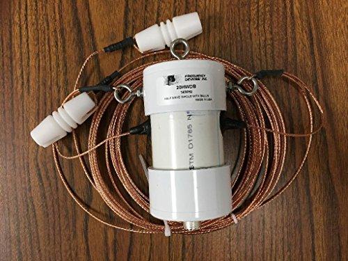 20 Meter Half Wave Dipole Antenna with W2FMI 1500 Watt Balun