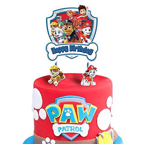 PAW Patrol Birthday Cake Topper