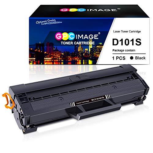 GPC Image MLT-D101S Cartuchos de tóner Compatible para Samsung MLT-D101S/ELS D101S para Samsung ML2160 ML 2162 ML2165 ML-2165W ML-2168 SCX-3405 SCX-3405F SCX-3400 SCX-3400F SF760P Impresora(1 Negro)