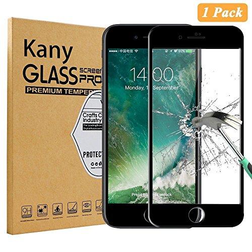 """iPhone 7 Pellicola Protettiva, Kany 2-Pack Premio di Protezione Pellicola Protettiva dello Schermo in Vetro Temperato per Apple iPhone 7 4.7"""" Screen Protector"""