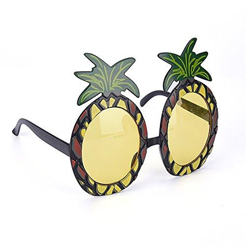 SevenMye Sonnenbrille für Hawaiianer-Kostümparty, Spezifikationen: Zubehör, Hawaiianer-Sommerparty, Strandparty, 4 Stille Ananas