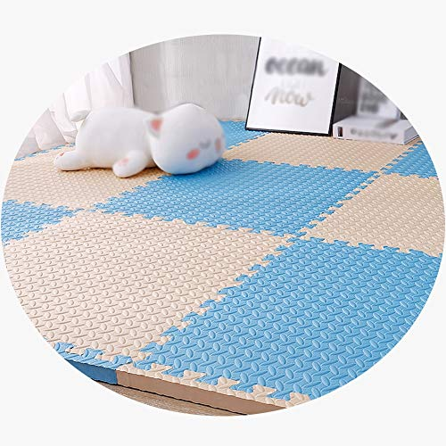 Fantastic Deal! MAHFEI Foam Interlocking Floor Mats Puzzle Pad Child Crawling Collision Protection G...