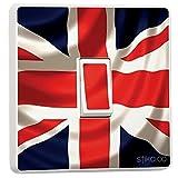 Union Jack UK Britische Flagge Lichtschalter-Sticker