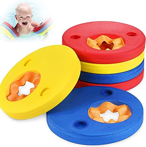 Schwimmflügel Schwimmhilfe für Kinder, Schwimmhilfe Schwimmscheiben, Schwimmscheiben für Kinder und Kleinkinder 2-6 Jahre, 15-30 kg, Ideal Schwimmhilfen Schwimmflügel, für Schwimmbad, Pool, Strand