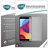 Slabo 2 x Film de Protection d'écran pour LG Q8 Protection écran Film No Reflexion Mat