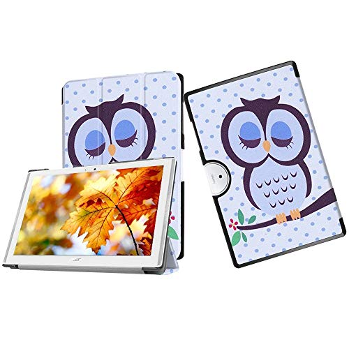 Cover for Acer Iconia One 10 B3-A40,Acer Iconia One 10 B3-A40 Shockproof Case,Acer One 10 B3-A40 Case,Stand Case for Acer Iconia One 10 B3-A40 10.1inch Tablet, Owl