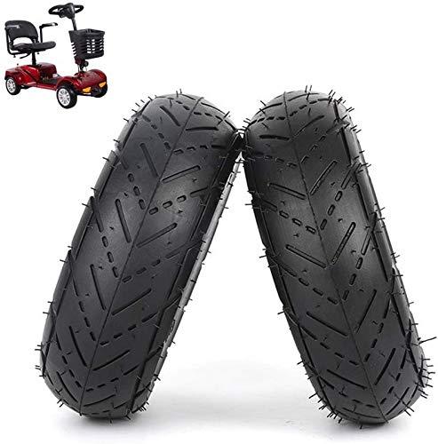 JJDSN Neumáticos para patinetes eléctricos Ruedas duraderas, neumáticos Interiores y Exteriores inflables...
