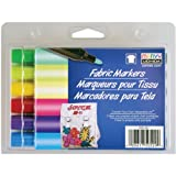 Bold Tip Brilliant Color Fabric Marker Set
