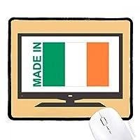 アイルランドの国の愛で マウスパッド・ノンスリップゴムパッドのゲーム事務所