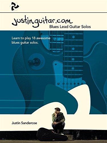 Justinguitar.com Blues Lead Guitar Solos by Justin Sandercoe(2015-07-13)