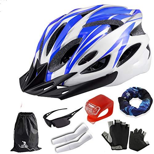 BOC Czz Fahrradhelm, Männlicher Mountainbike Helm Fahrradhelm, Einteilige Reitausrüstung,C,Helm