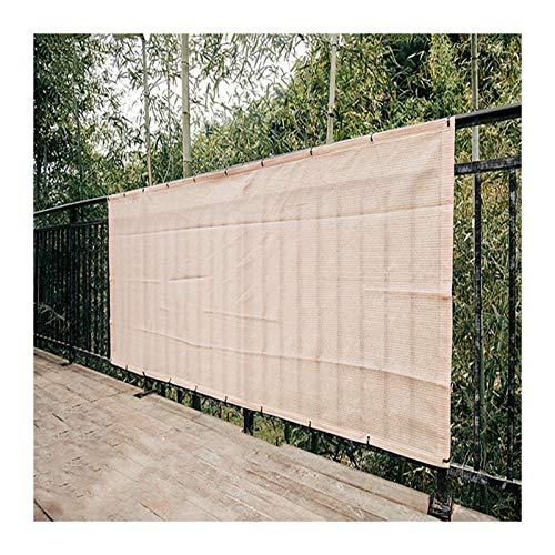 Gdmokle Paño De Sombra, Aislamiento Enfriarse Exterior Jardín Sombra De Malla para El Sol, Cifrado Valla Protección De La Privacidad, Varios Tamaños Personalizable (Color : A, Size : 2x4m)