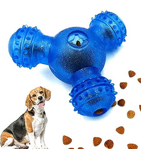 Juguetes para Perros, Pelota para Perros, Pelotas de Comida para Perros, Pelota para Masticar de Juguete Resistente a la mordedura no tóxica para, para Limpieza de Dientes