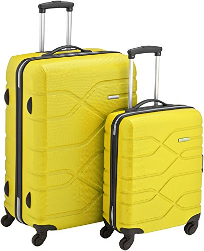 American Tourister Houston City 2 PC Set B da 2 Valigie, 75 cm, Giallo