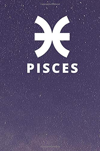 PISCIE: Zodiac Symbol Horoscope Notebook ,Lined Notebook / Journal Gift, 120 Pages, 6x9, Soft Cover, Matte Finish