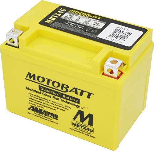 MOTOBATT Batterie MBTX4U (2 Poles)