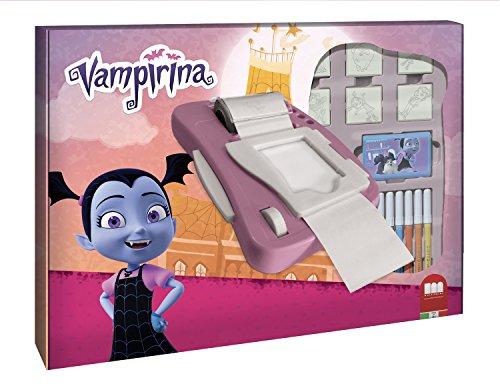 Multiprint 8970 Stickermaschine mit Stempeln Vampirina, 23 teilig, Bunt