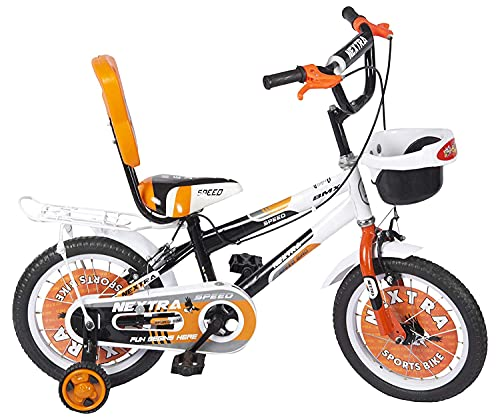 Speed bird cycle industries Steel Sports Kids Cycle for Boys & Girls - Age Group 3-6 Years Orange