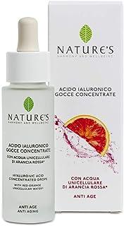 Bios Line Acque Unicell, Acido Ialuronico con Acqua Unicellulare di Arancia Rossa - 500 ml
