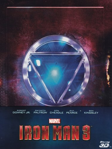 Iron Man 3 (Steelbook Limited Edition) Blu-Ray 3D;Iron Man 3