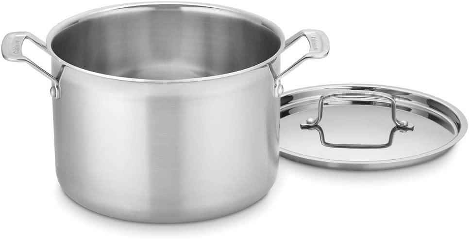 Cuisinart MultiClad Pro Stainless 8-Quart Stockpot with Cover