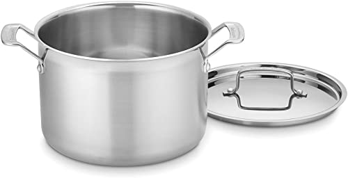 high quality Cuisinart new arrival MultiClad Pro wholesale Stainless 8-Quart Stockpot with Cover sale