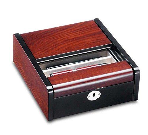 Ferocase FC938BLW Edle Sammelbox Penbox für 14 Luxus Schreibgeräte oder Schmuck