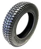 CST Neumáticos para silla de ruedas 3.00-8, 4PR, color negro, perfil de bloque fuerte, construcción de neumáticos estable, neumáticos para silla de ruedas eléctrica, scooter, silla de ruedas eléctrica
