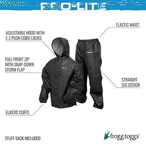 Frogg Toggs 1002664-SSI Frogg Toggs Pro Lite Rain Suit Royal Blue - X/XXL - multi, N/A