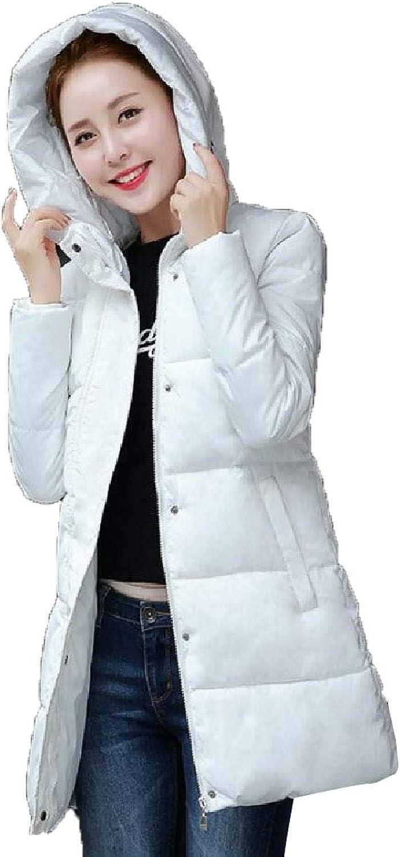 Desolateness Women Coat Jackets Slim Fit Hoodie Coat Jacket Winter Long Outwear