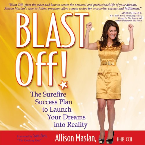 Blast Off! audiobook cover art