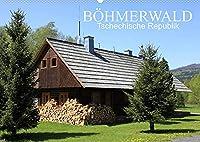 BOeHMERWALD, Tschechische Republik (Wandkalender 2022 DIN A2 quer): Der Boehmerwald, auf Tschechisch genannt Nationalpark Sumava, ist eine etwa 100 km lange Bergkette, die sich auf beiden Seiten entlang der tschechisch-deutsch-oesterreichischen Grenze erstreckt. (Monatskalender, 14 Seiten )