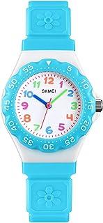 GRyiyiKids Watch, Girls Watches 50M Waterproof Wrist Watch Adorable Time Teacher for Boy Girl