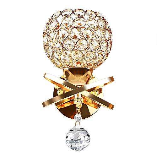 Aplique cristal lámparas de pared de cristal E14lámpara de noche decorativa AU estilo moderno aplique del Salón decoración de la casa (no incluye bombilla)