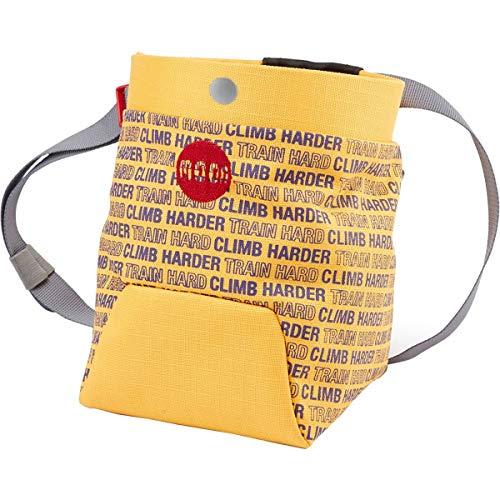 MOON Trad Chalk Bag, CH Saffron/BlackBerry