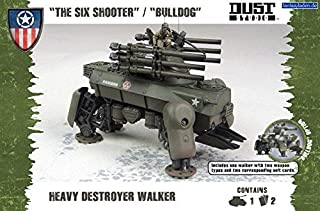 Dust Tactics Model - The Six Shooter Bulldog - Heavy destroyer - DT076 - New by Battlefront Miniatures