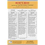 Acne treatment products Burt's Bees Natural Acne Solutions Clarifying Toner, Face