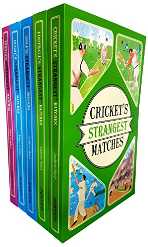 Price comparison product image Strangest matches and rounds 5 books collection set