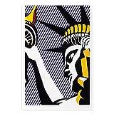 Roy Lichtenstein PóSter Pop Arte Lienzo óLeo Pintura AnimacióN Publicidad Estilo Obras De Arte PóSter Dibujos Animados Cuadro Pared Fondo Decoracion Naturaleza Enmarcado,