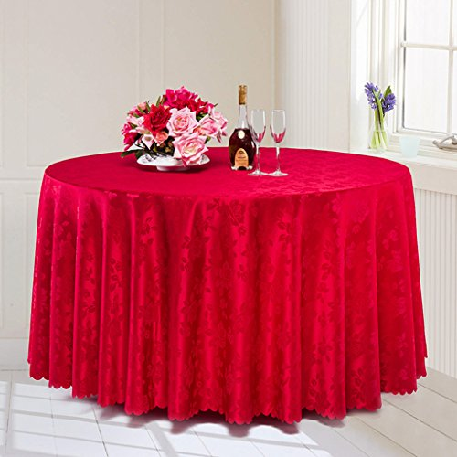 Linge Table Nappe Ronde Cafe
