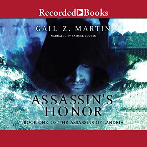 Assassins Honor audiobook cover art